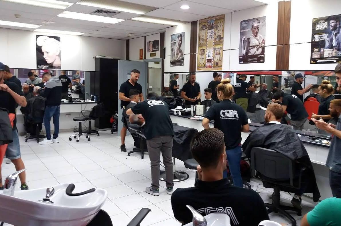 curso de estilismo masculino con barbería
